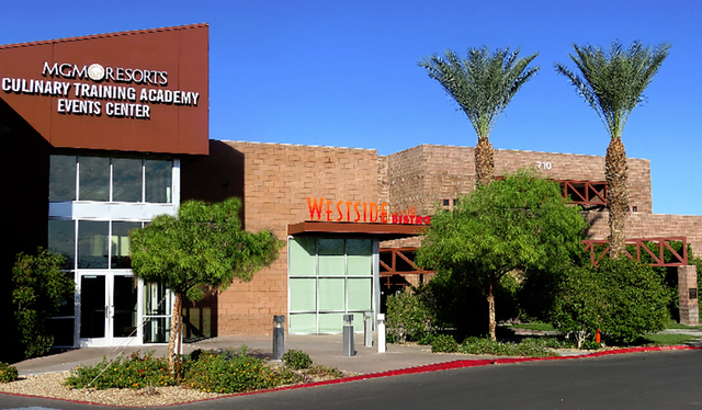COURTESY José Jauregui, executive steward of the Culinary Academy of Las Vegas, launched a recycling program last June