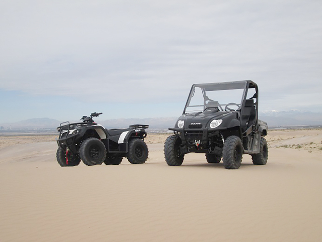 Xtreme Green Electric Vehicles offers the Citadel ATV and the Transport PRO UTV. (Courtesy)