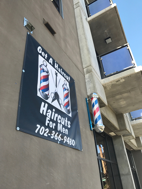 California-based Get a Haircut, men's barber shop, has opened at The Promenade at Juhl, downtown Las Vegas high-rise. (Courtesy)
