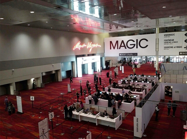 Magic international fashion trade show in las vegas aug for Pool trade show vegas