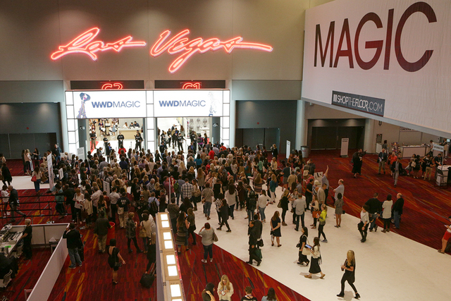 The MAGIC marketplace show is so large that it is split into three locations: the Las Vegas Convention Center, Mandalay Bay Convention Center and Sands Expo.  (Courtesy)