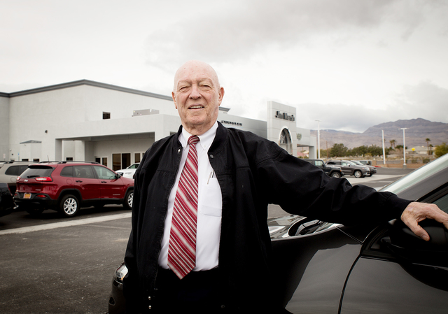 Local car dealer Jim Marsh opened a 33,000-square-foot Chrysler Jeep dealership at 8575 W. Centennial Parkway in early January. Marsh's new site gives Chrysler shoppers six dealership choices in ...