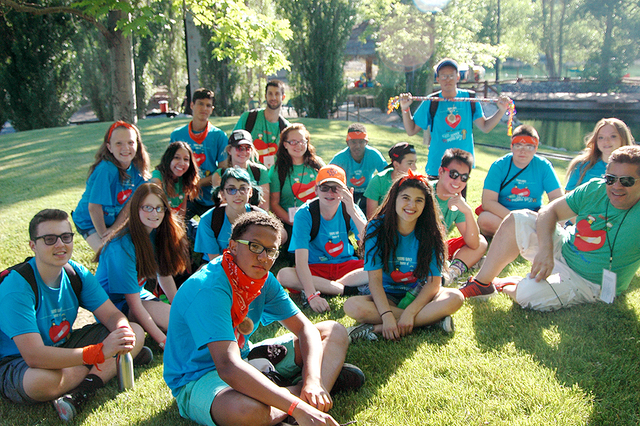 This year marked the eighth year for Camp Heart and Sole, which partners with contributions from PepsiCo and Ronald MacDonald House, along with the Children's Heart Foundation. (Courtesy)
