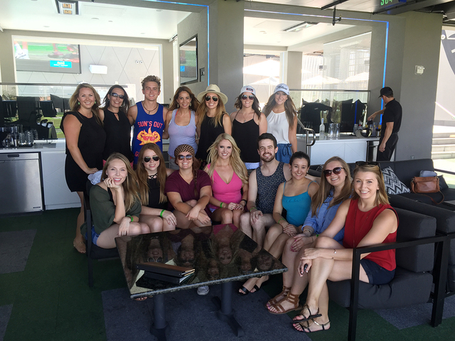 COURTESY Nearly all of Wicked Creative's 15 employees are millennials. The company hosts social events, such as this one at Top Golf.