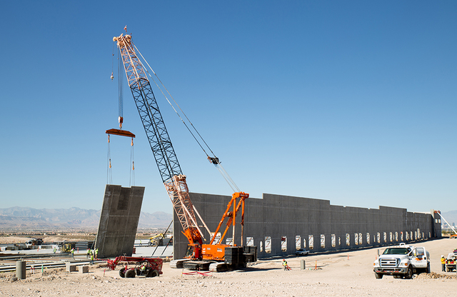 Tonya Harvey/Las Vegas Business Press Newport Beach, California-based Panattoni Development Co. is finishing construction on a 482,300-square-foot speculative industrial building in the Henderson  ...