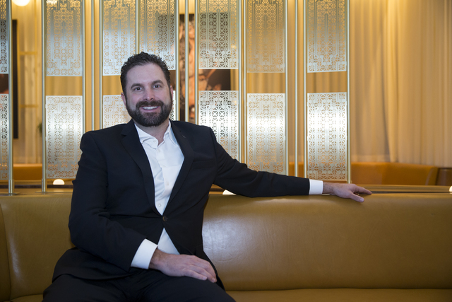 General manager Mark Eberwein at the W Las Vegas hotel. (Erik Verduzco/Las Vegas Business Press)