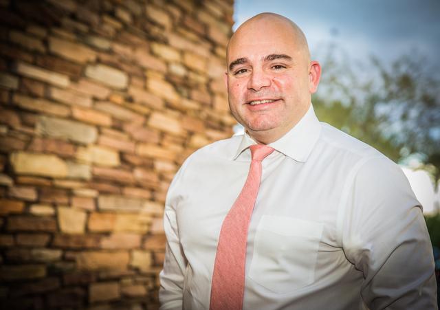 David J. Tina, 2017 GLVAR president. (Tonya Harvey/Las Vegas Business Press)