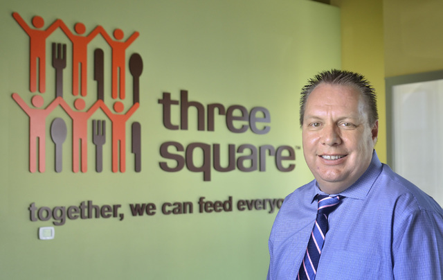 Under Three Square Food Bank's Chief Operating Officer Dan Williams' watch, approximately 55 percent of recoverable food in the Las Vegas metropolitan area is saved, far above the national average ...
