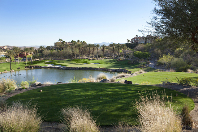 Canada-based Pacific Links International has hired Colliers International as its exclusive agent for the sale of the Golf Club at SouthShore in Henderson's Lake Las Vegas. (Courtesy of SouthShore)