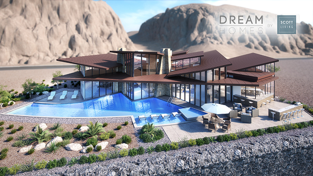 The Scotts used Chateau during the construction on their own house in Las Vegas, and the company has done projects in Ascaya and MacDonald Highlands. Pinnacle Architecture was selected because the ...