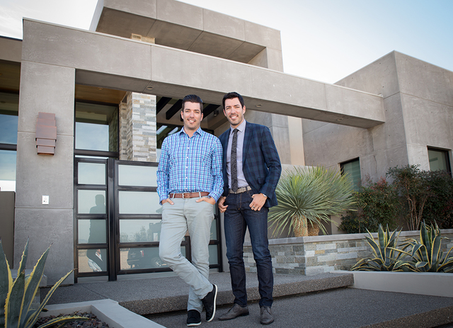 Drew and Jonathan Scott's Dream Homes by Scott Living will design ultra-luxury desert contemporary-style dwellings.