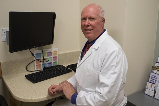 Dr. John Rhodes M.D. at Southwest Medical Associates at 10105 Banburry Cross Drive in Las Vegas, on Friday, Dec. 2, 2016. (Miranda Alam/Las Vegas Review-Journal) @miranda_alam