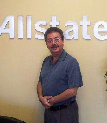 Allstate Agency owner Moe Elousta received Allstate's Agency Affiliation award for celebrating 15 years as a Las Vegas business owner. (Courtesy)
