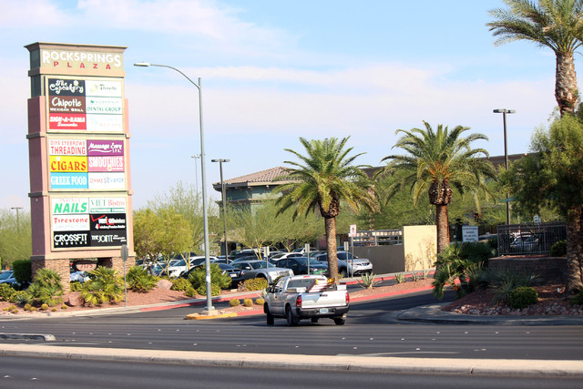 Jeffrey Meehan/Las Vegas Business Press Entrance of 7175 West Lake Mead Boulevard.
