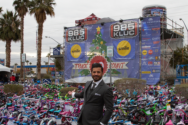 Naqvi Injury Law showed its support for underprivileged Las Vegas families with its fourth annual sponsorship of the 98.5 KLUC Toy Drive. Managing partner Farhan Naqvi and his team donated 1,000 b ...