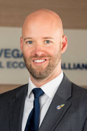 Jonas Peterson, president and CEO, Las Vegas Global Economic Alliance
