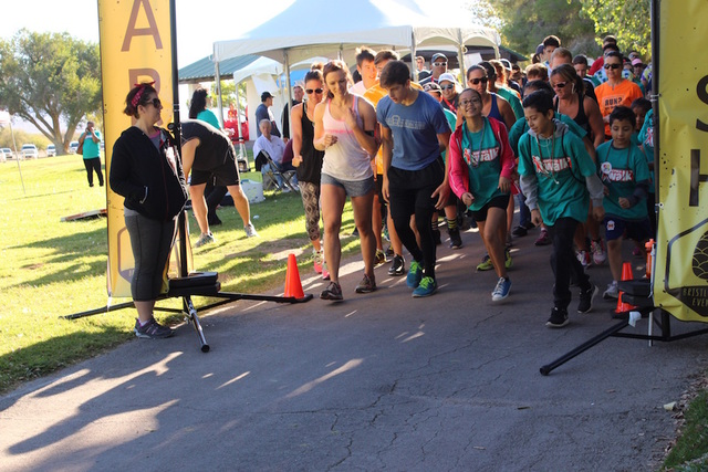 More than 500 walkers and runners took part in Hemophilia Walks and 5K events in Las Vegas and Reno in September, allowing the Nevada Chapter of the National Hemophilia Foundation to raise more th ...