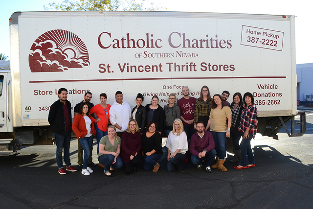 MassMedia Corporate Communications collected 10,000 pounds of food and supplies for Catholic Charities of Southern Nevada during the firm's 18th Annual Feeding the Masses Thanksgiving Food Drive ...