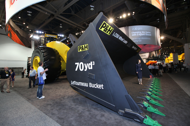 More than 1,800 companies will display products in more than 800,000 square feet of exhibit space at The National Mining Association's MINExpo International 2016. (Courtesy)