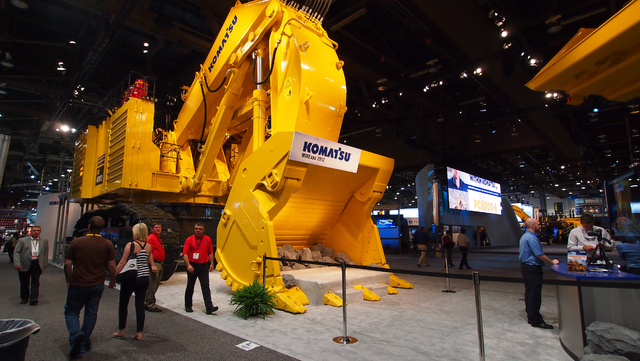 """MINExpo demonstrates the confidence that the global mining industry has in itself, depsite the tough market conditions they have endured recently,"" says Luke Popovich, spokesperson for NMA. ( ..."