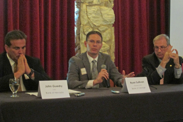 The fate of interest rates was one of the topics addressed Sept. 8 during a Financial Trends Forecast panel discussion sponsored by the Commercial Real Estate Women Las Vegas, also known as CREW L ...