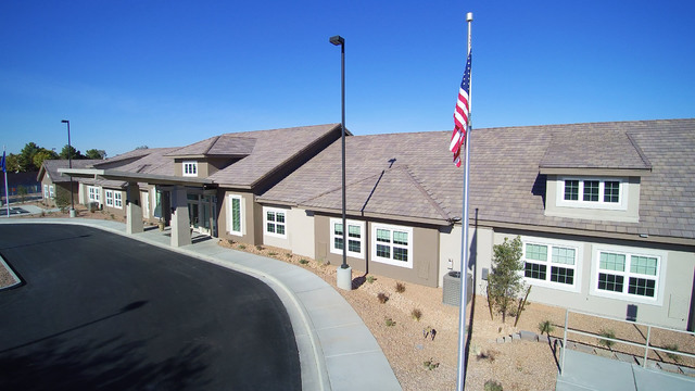 SR Construction completes Poets Walk Henderson, a 38,720-square-foot memory care facility at 1750 W. Horizon Ridge Parkway. (Courtesy Photo)