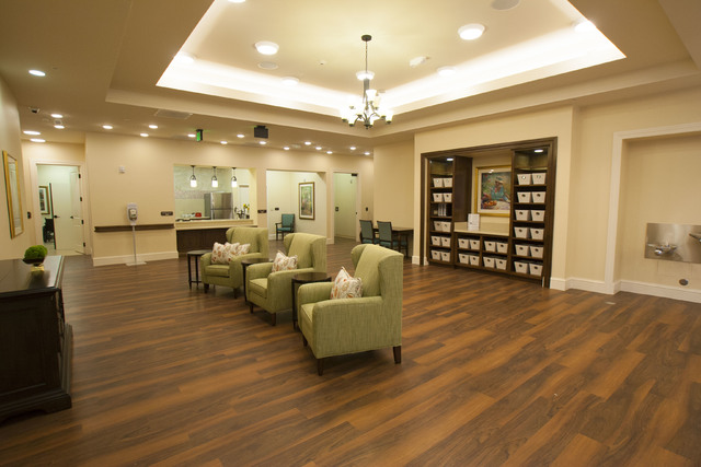 Poets Walk Henderson is a new a 38,720-square-foot memory care facility at 1750 W. Horizon Ridge Parkway.