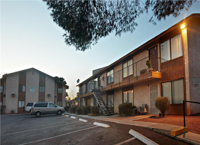 COURTESY Marcus & Millichap, a commercial real estate investment services company, reported the sale of the Sage Point Apartments, at 1400 E. Reno Ave., for $7 million at the end of August.