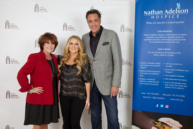 Carole Fisher, Lee Ann Womack and Brad Garrett (Courtesy)