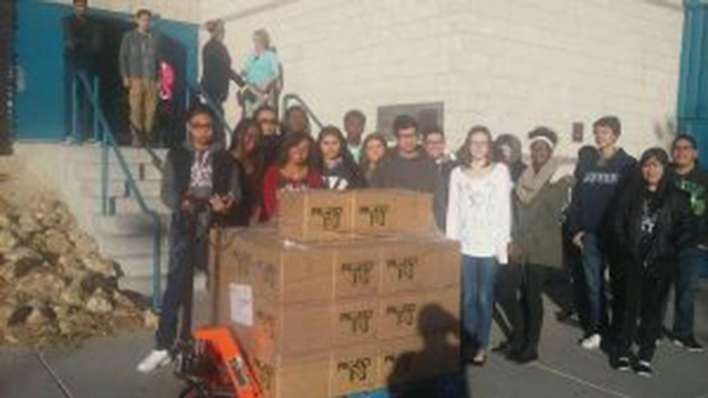 Project 150 to provide 3,000 holiday meals for local homeless high school students. (Courtesy)