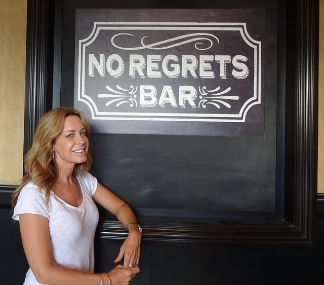 Shawn Lane, owner of No Regrets Bar, 8349 W. Sunset Road, started taking advantage of her Pokémon gym status when she realized what was going on. (Craig A. Ruark, Special to the Las Vegas Busines ...