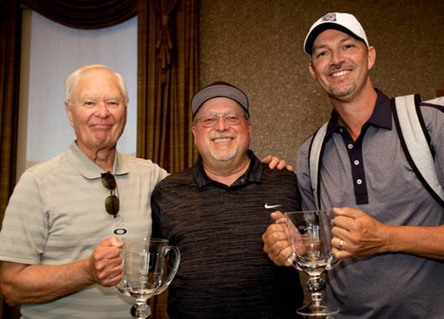 Mercedes-Benz of Henderson announces Ted Quirk and Ed Fryatt as the winners of the 2016 Mercedes-Benz Dealer Championships Golf Tournament Wednesday, Oct. 5, at DragonRidge Country Club. (Courtesy)
