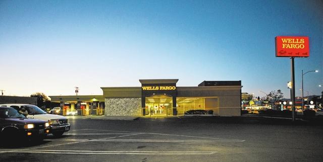 Wells Fargo is seen in Las Vegas on Sept. 16. (Miranda Alam/Las Vegas Business Press)
