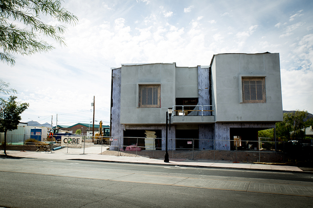 TONYA HARVEY/LAS VEGAS BUSINESS PRESS The commercial project will house Tate Snyder Kimsey's new Henderson offices. It is expected to open in January.
