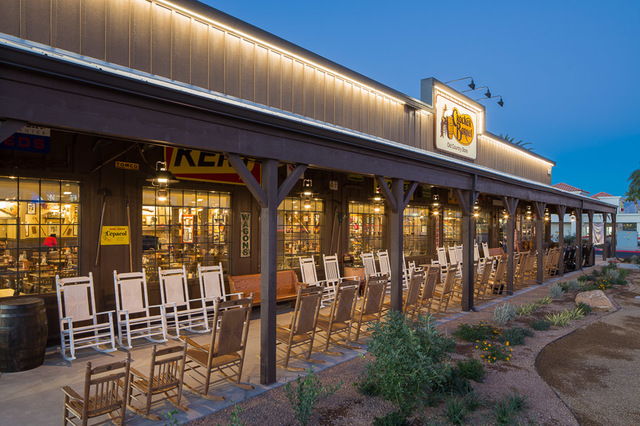 Las Vegas-based DC Building Group completes construction on Cracker Barrel Old Country Store at 2815 E. Craig Rd. in North Las Vegas.