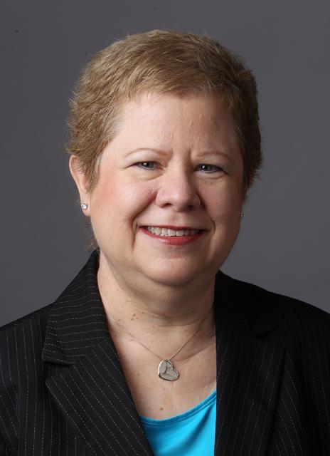Las Vegas Business Press Publisher Debbie Donaldson is photographed at the Las Vegas Review-Journal offices Oct. 3, 2016. K.M. Cannon/Las Vegas Review-Journal