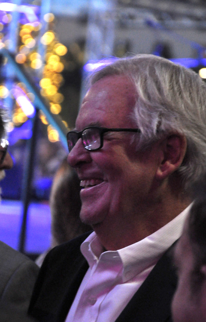 Vegas Golden Knights owner Bill Foley waits to take the stage for the team's unveiling ceremony Nov. 22 at the T-Mobile Arena. Photo by Buford Davis | Business Press