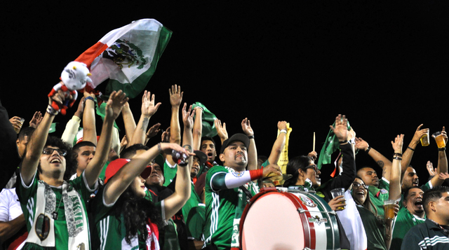 The Iceland-Mexico friendly at Sam Boyd Stadium drew a record attendence of 30,617, Feb. 8. Photo by Buford Davis / Las Vegas Business Press