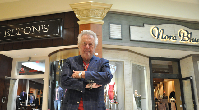 Elton (L.T.) Salinas has guided Elton's and Nora Blue through the recession and the incursion of corporate apparel chains and online retail. (Buford Davis/Las Vegas Business Press)