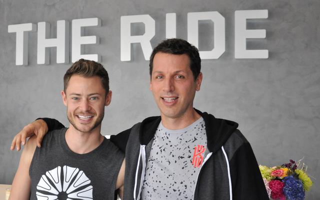 Mark Cornelsen, Milo Miloscia opened The Ride with Shannon McBeath. (BUFORD DAVIS/LAS VEGAS BUSINESS PRESS)
