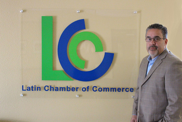 Peter Guzman, president of the Latin Chamber of Commerce, is  positioning the group to be a force in both small business and politics.  Jeffrey Meehan Las Vegas Business Press