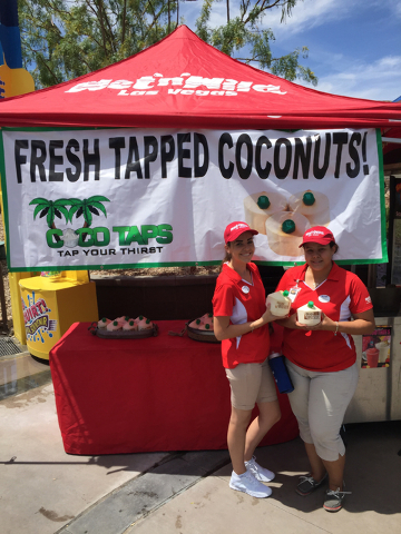 Las Vegas-based COCO TAPS launched at Wet'n'Wild on July 4. (Courtesy)