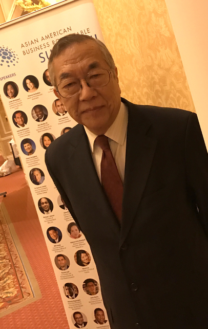 In 1994, John Wang (above) founded the Asian American Business Development Center, the host organization of the Asian American Business Roundtable Summit II, Jan. 11-13 at the Venetian. Photo by B ...
