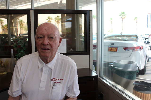 Jim Marsh talks about the hotel addition at Skyline Casino in Henderson. Jeffrey Meehan/Las Vegas Business Press
