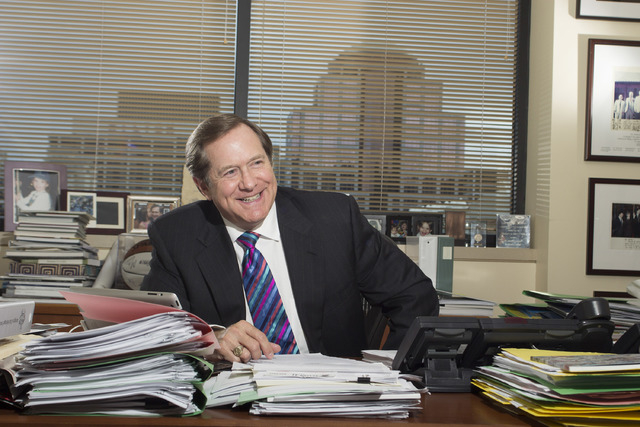 Jordan Schnitzer leads Harsch Investment Properties from his Porttland office. (Courtesy Harsch. Photo by Tim Sugden, About Face.)