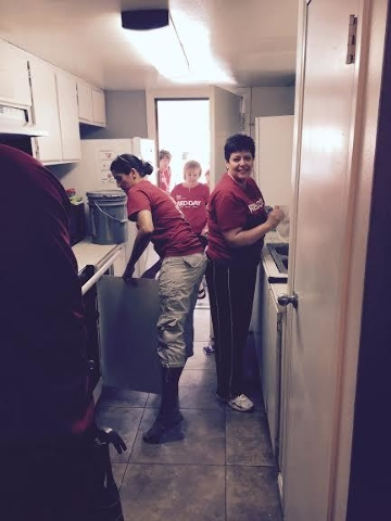 Keller Williams Las Vegas Realty partners with Nevada Partnership for Homeless Youth for RED Day