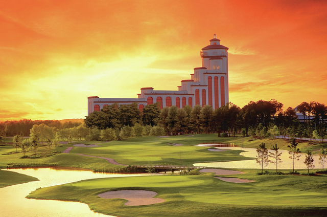 Pinnacle Entertainment's L'Auberge Casino Resort in Lake Charles, Louisiana. (Courtesy)