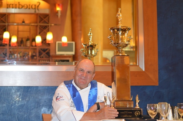 Chef Gustav Mauler of Spiedini has been named Chef of the Year by the American Culinary Association. Stephanie Annis, special to the Las Vegas Business Press