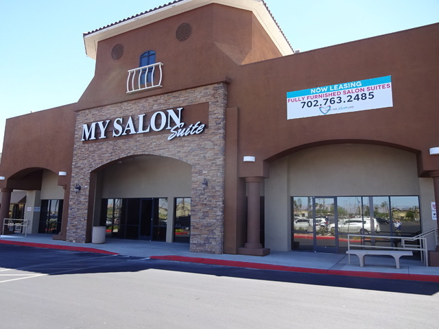 The Skvorzovs' My Salon Suites, 9850 S. Maryland Parkway, has 31 state-of-the-art salon suites. (Craig A. Ruark, special to Las Vegas Business Press)