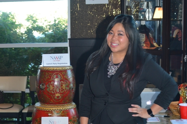 Elizabeth Nguyen, owner of ElizEvents, is also the founder of the Nevada chapter of the National Association of Asian American Professionals. (Stephanie Annis, special to the Las Vegas Business Press)